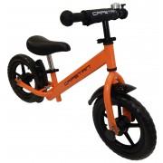"""Capetan® Energy Plus Narancs színű 12"""" kerekű futóbicikli sárhányóval és csengővel - pedál nélküli g"""