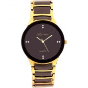 i DIVAS Timebre Glamorous Men Party Black Gold Watches