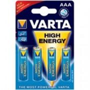 batterie pile alkaline ministilo 1,5v - varta - tipo aaa - conf.4pz