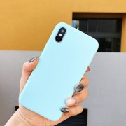 Funda para celular iphone 7plus/8 plus TPU Azul
