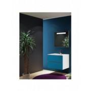 Ansamblu mobilier Riho cu lavoar marmura 60cm gama Cambio Sentito, Set 03 Silk