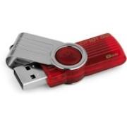 Kingston Data Traveler 101 G2 8 GB Pen Drive(Red)