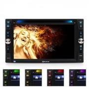 "Auna MVD-481 Autorradio con pantalla 6,2"" DVD CD MP3 USB SD"