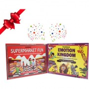 WondrBox educational gift set-pack of 2 learning games 8 DIY activities included for age 3+