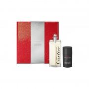 Cartier Declaration Set (Eau De Toilette 100 Ml Spray+ Deo Stick 75 Ml) (3432240501615)