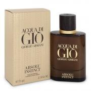 Acqua Di Gio Absolu Instinct Eau De Parfum Spray By Giorgio Armani 2.5 oz Eau De Parfum Spray