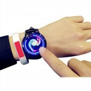 Reloj Personalidad Luz Azul Touch Screen Reloj De Pulsera (para Dama)