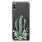 Odolné silikonové pouzdro iSaprio - Cacti 02 - Huawei Y6 2019
