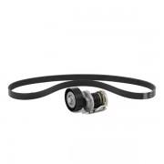 SNR Kit Cinghie Poly-V KA859.33 PEUGEOT,CITROËN,206 CC 2D,207 WA_, WC_,307 SW 3H,207 CC WD_,307 3A/C,207 SW WK_,307 Break 3E,1007 KM_,C2 JM_,C3 I FC_