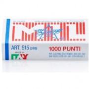 Zenith Punti metallici per cucitrici 515 24/6 - 10 scatole da 1000 punti