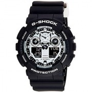G-Shock Analog-Digital White Dial Mens Watch - Ga-100Bw-1Adr (G619)