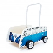 Hape Classical Bus T1 Walker Blue E0381