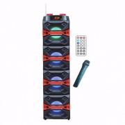 Boxa Portabila BT, FM, USB, SD, MIC si Telecomanda Ailiang ICSS12