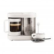 Cafetiera French Press Bistro Bodum, 1 l, 410 W, Alb