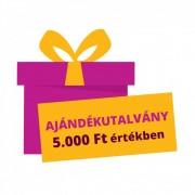5.000 Ft értékű Pelenka.hu ajándékutalvány
