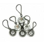 U-B Dazzling in Diamonds Charms for Rainbow Loom Bracelets- (6 diamond charms)