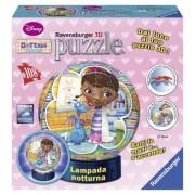 Puzzle 3D luminos Doctorita Plusica, 108 piese, RAVENSBURGER Puzzle 3D