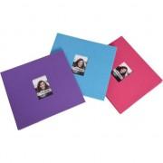 """Pe albumul Polaroid imagini 2x3 """""""" - roz"""