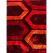 Tapete Decorativo Chic Design Flechas Rojo 160X225 cm