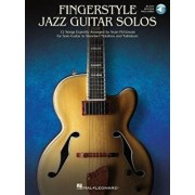 Fingerstyle Jazz Guitar Solos: 12 Songs Expertly Arranged for Solo Guitar in Standard Notation and Tablature [With Access Code]/Sean McGowan