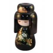 Japonská panenka Kokeshi Hatsukoi Urushi 17 cm