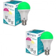 SWARA B22 12W COLOR LED BULB GREEN- PACK OF 2