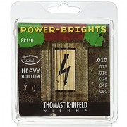 Thomastik-Infeld RP110 Electric Guitar Strings: Power-Brights 6 String Heavy Bottom Set Set E B G D A E