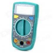 """Pro'sKit MT-1233C Pantalla LCD de 2?1"""" Multimetro de 3 digitos - Verde + Gris (2 x AAA)"""