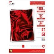 Multilaser Papel Glossy Paper Multilaser A4 180G C/ 50 Folhas - Branco - PE031 PE031