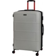 IT luggage Expressway Polycarbonate Hardsided Medium Size Suitcase | 8 Wheel Trolley | 16-2337-08 | Expandable Check-in Luggage - 27 inch(Grey)