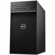 Dell Precision T3630 w/460W up to 90 efficient PSU, Intel Xeon E-2124G, 4 Core, 8MB Cache, 3.4GHz, 4.5Ghz Turbo, 8GB 1x8GB 2666MHz DDR4 UDIMM Non-ECC, M.2 256GB PCIe NVMe, Intel UHD 630, 8x DVD/-