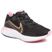 Обувки NIKE - Renew Run CK6360 001 Black/Orange Pulse/White/Pink