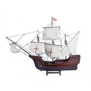 Hampton Nautical Wooden Santa Maria Limited Tall Model Ship