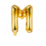 SkyLantern® Original Ballon Lettre M Or 35 cm