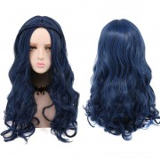rosegal Long Curly Braided Synthetic Descendants Evie Cosplay Wig