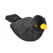 Wild Republic 19489 13-16 cm Blackbird with Real Bird Calls Plush Toy