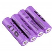 ER 18650 3.7V 9800mAh Batería Recargable De Li-ion Para LED Linterna Antorcha