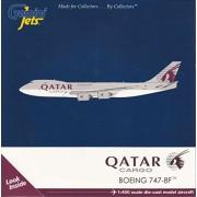 Geminijets Gemgj1720 1:400 Gemini Jets Qatar Cargo Boeing 747-8F Reg #A7-Bgb (Pre-Painted/Pre-Built)