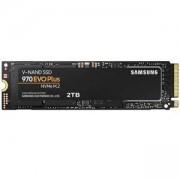 SSD диск Enterprise SSD Samsung 970 EVO PLUS Series, 2 TB 3D V-NAND Flash, NVMe M.2, AES 256-bit Encryption Support, MZ-V7S2T0BW