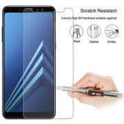 Tempered Glass Screen Protector 0.3mm Thickness (2.5D Curve) Shatter Proof for Samsung Galaxy A8 Plus 2018 / Samsung A8+ (2018)