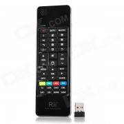 Teclado RII RT-MWK13 Mini Wireless w / IR remoto + Air Mouse - Negro