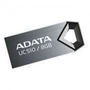 USB flash drive AData DashDrive Choice UC510 8GB USB 2.0 Titanium