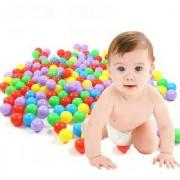 Kuhu Creations Supreme Joy Learning Toys. (Balls Small Multi Hard Plastic 24 Pcs)