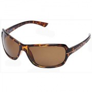 Fastrack P321GR3 Rectangular UV Protection Sunglasses Brown / Brown
