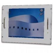 Techly Professional Monitor LCD 17'' per Rack 19'' 8 Unità Grigio