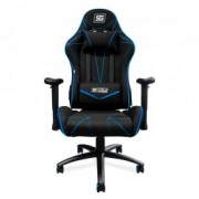 Silla Gamer Vorago Start CGC500-BL, Color Negro/ Azul, Reclinable, Hasta 120kg
