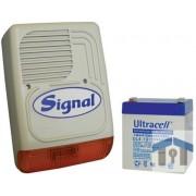 SIGNAL PS-128A + 4Ah akkumulátor