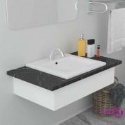 vidaXL Ugradbeni umivaonik 42 x 39 x 18 cm keramički bijeli