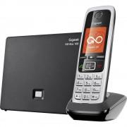 bežični voip telefon Gigaset C430A GO responder, handsfree, priključak za slušalice TFT/LCD u boji crna, srebrna