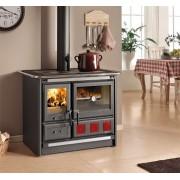 Nordica Extraflame ROSA XXL Cocina de leña con revestimiento de acero esmaltado 8,5 kW